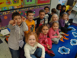 Cople Pre Kindergarten Students
