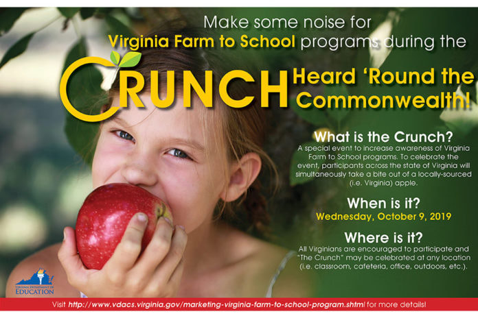 Virginia Farm to School Program Flyer