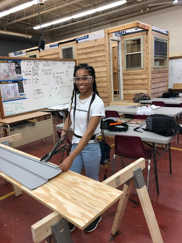 W&L Carpentry Student