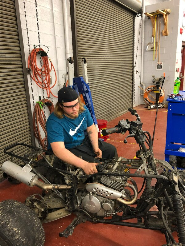 W&L Small Engine Repair Student