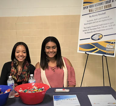 W&L Student Interns for Credit Union